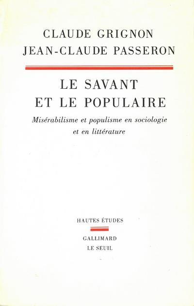 LE SAVANT ET LE POPULAIRE