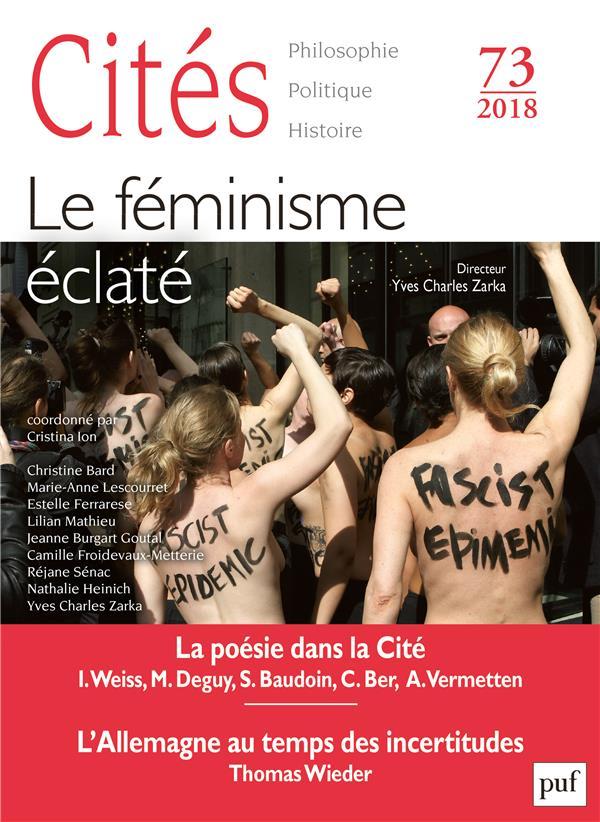 CITES 73 : LE FEMINISME ECLATE