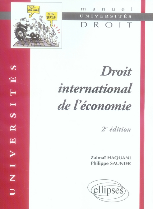 Droit International Economique (2e Edition)