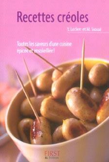 Le Petit Livre De Cuisine; Recettes Creoles