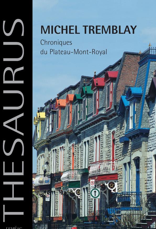 Chroniques Du Plateau-Mont-Royal