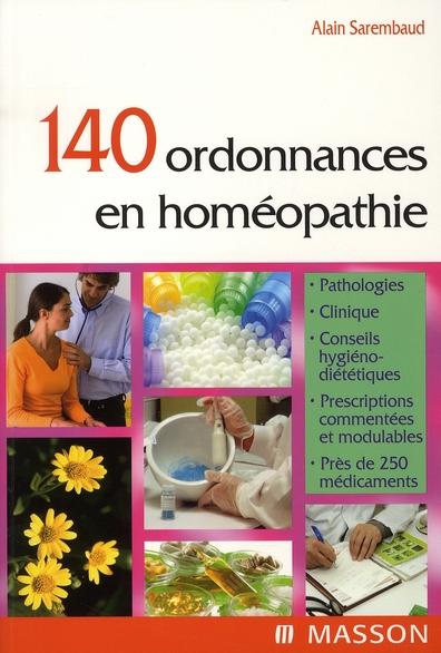 140 Ordonnances En Homeopathie