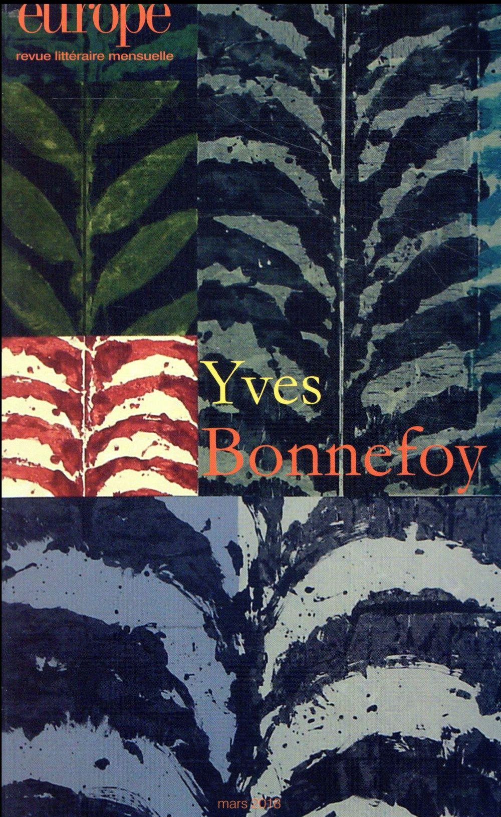 EUROPE 1067 : YVES BONNEFOY