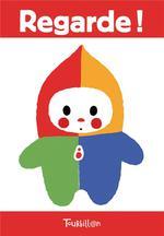 Couverture de Regarde ! 20 cartes imagier pour bébé