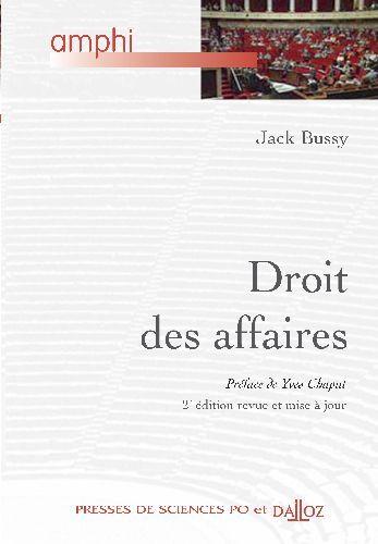 Droit Des Affaires - 2e Ed.