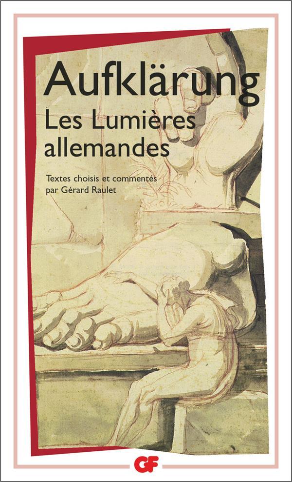 AUFKLARUNG: LES LUMIERES ALLEMANDES
