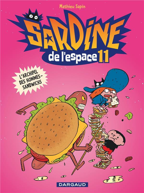 archipel des hommes-sandwichs (L'). 11 | Sapin, Mathieu. Auteur