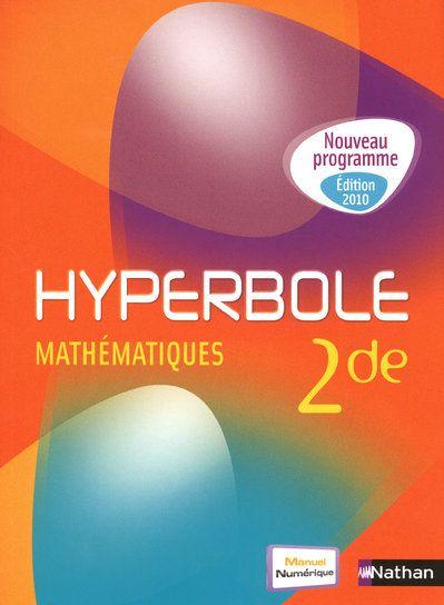 Hyperbole 2de Petit Format 2010