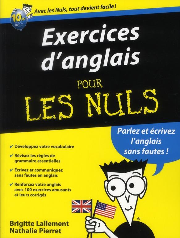 Exercices D'Anglais Pour Les Nuls