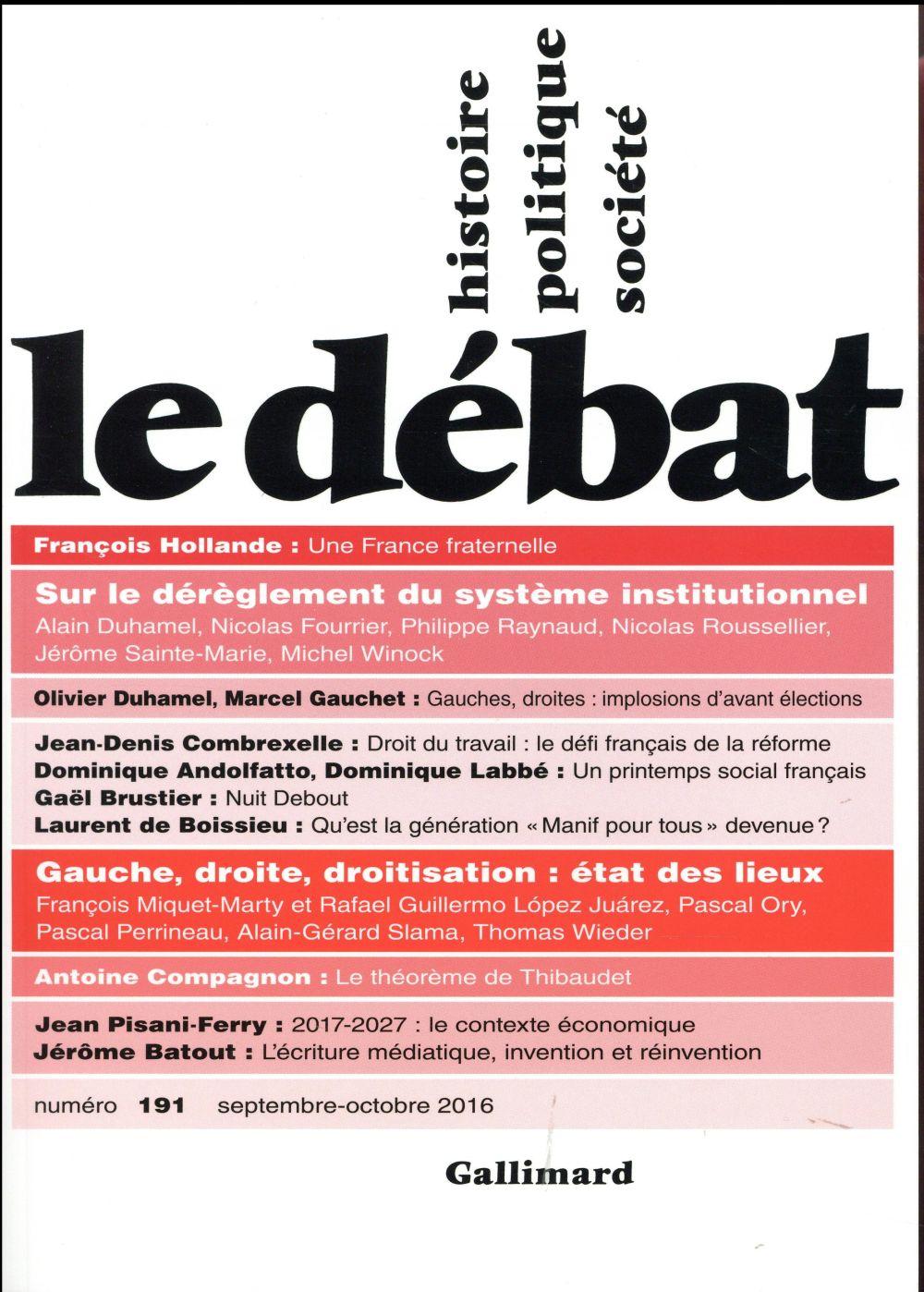 LE DEBAT 191