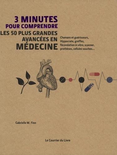 Les 50 plus grandes avancées en médecine ; chamans et guérisseurs, hippocrate, greffes, fécondation « in vitro », scanner, prothèses, cellules souches