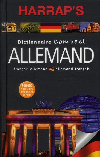 Dictionnaire Harrap'S Compact Allemand