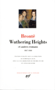 Oeuvres t.1 ; wuthering heights et autres romans ; 1847-1848