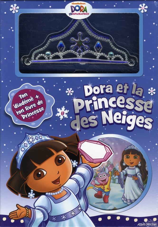 Coffret Dora Et La Princesse Des Neiges