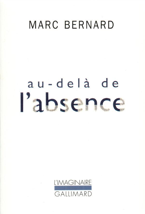 AU-DELA DE L'ABSENCE