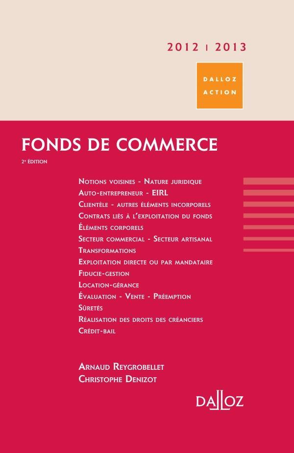 Fonds De Commerce (Edition 2012/2013)