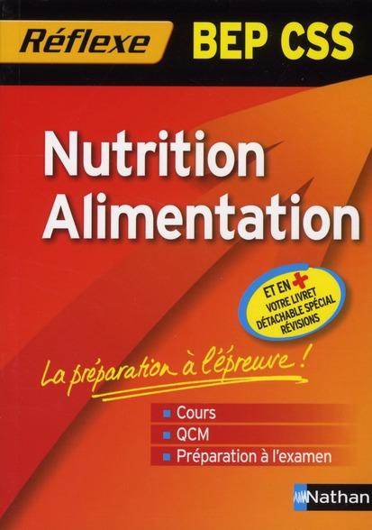 Nutrition Alimentation Bep Css (Memo Reflex) N88 2010