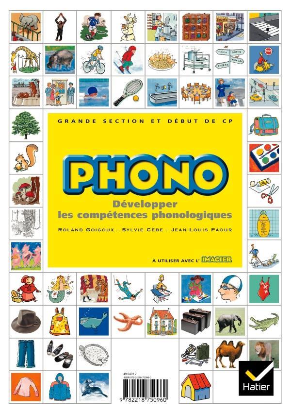 Grande Section Maternelle / Cp; Phono ; Developper Les Competences Phonologiques ; Maternelle ; Grande Section Et Debut De Cp ; Guide Du Ma