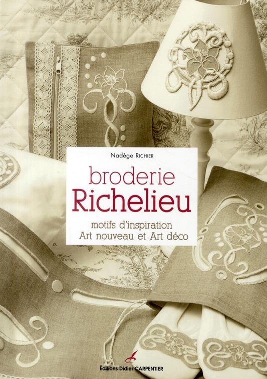 Broderie Richelieu ; Motifs D'Inspiration, Art Nouveau Et Art Deco
