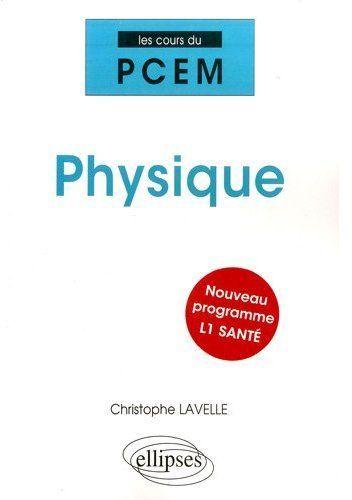 Physique Pour La L1 Sante