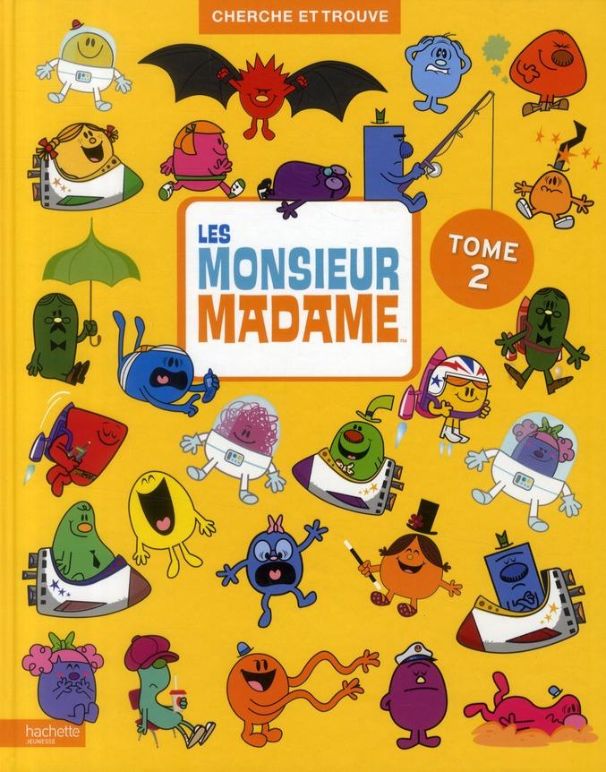 Cherche Et Trouve; Monsieur Madame T.2