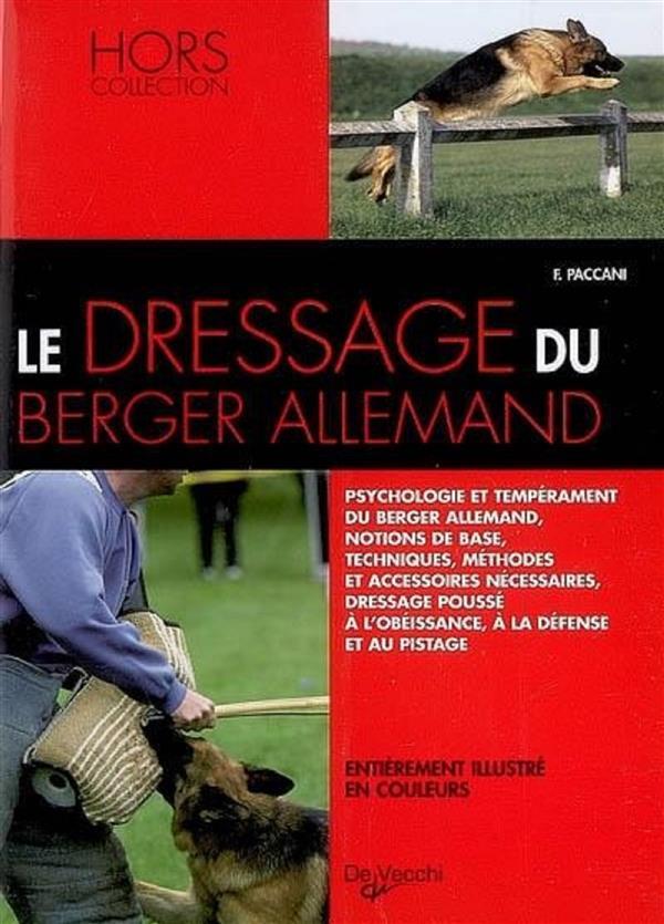 Dressage Du Berger Allemand (Le)