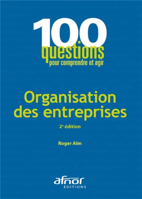 Organisation Des Entreprises