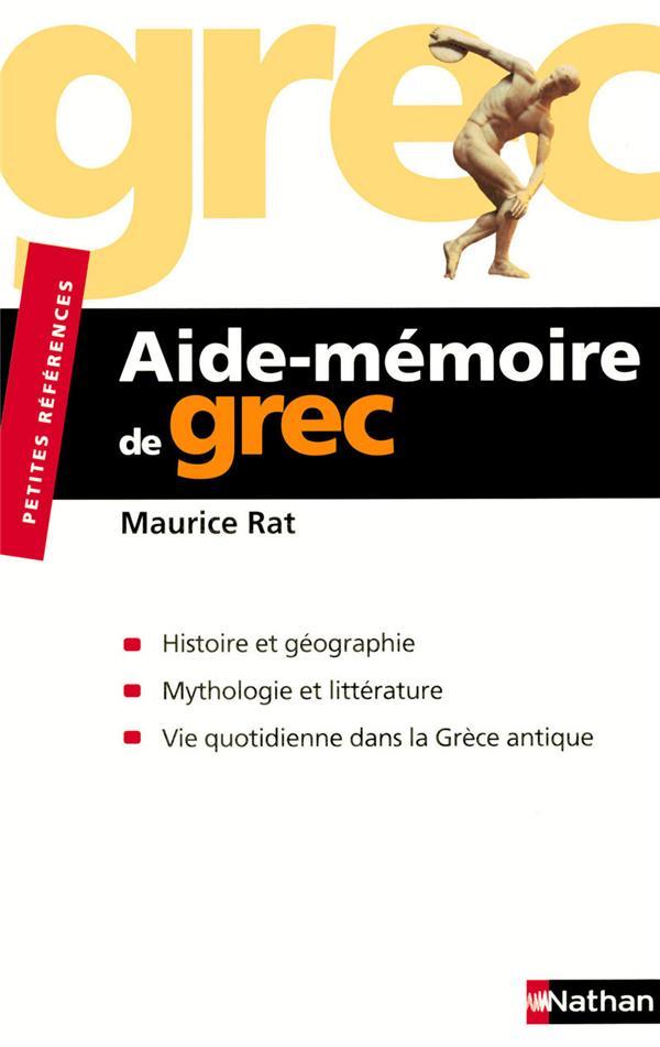 Aide-Memoire De Grec