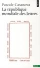 LA REPUBLIQUE MONDIALE DES LETTRES