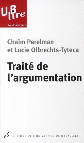 TRAITE DE L'ARGUMENTATION