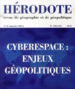 Couverture de REVUE HERODOTE N.152 ; 153 ; cyberespace : enjeux géopolitiques