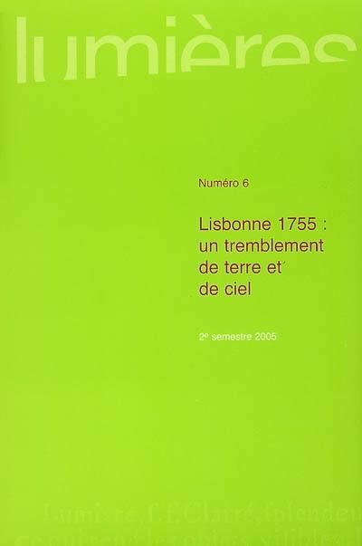 LUMIERES 6 : LISBONNE 1755