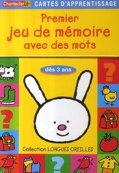 Cartes D'Apprentissage - Jeu De Memoire Longues Oreilles